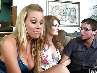 Giant Dicks Make Lovely Femmes Blessed - 4 Way Orgy