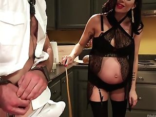 Mistress Gia Dimarco: Powerful, Preggo And Requiring Attention!