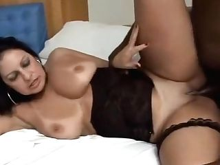 Crazy Superstar In Exotic Latina, Interracial Bang-out Clip