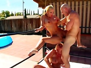 Johnny Sins, Phoenix Marie, Sadie Swede Threesome