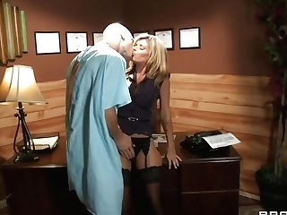 Threesome Activity With Sex Industry Stars Johnny Sins, Kristal...