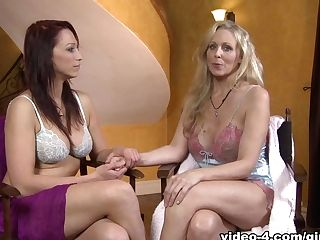 Horny Superstars Julia Ann, Nikki Hunter In Fabulous Frigging, Big...
