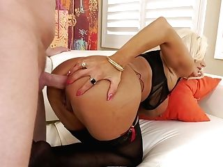 Insatiable Mark Wood Bangs Spread Assfuck Fuck-hole Of Big-chested...
